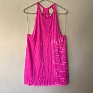 Victoria's Secret Pink Super Soft High Neck Tank